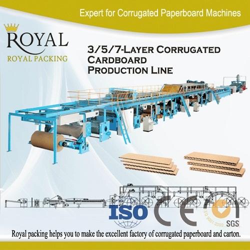 Mjf 5 Corrugated Board Production Line