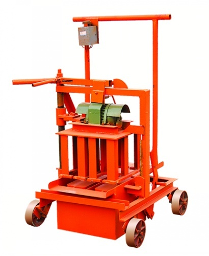 Mobile Block Making Machine Multi Function Brick For Sale Qm40a
