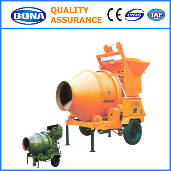 Mobile Electric Concrete Mix Machine Jzc350 On Sale