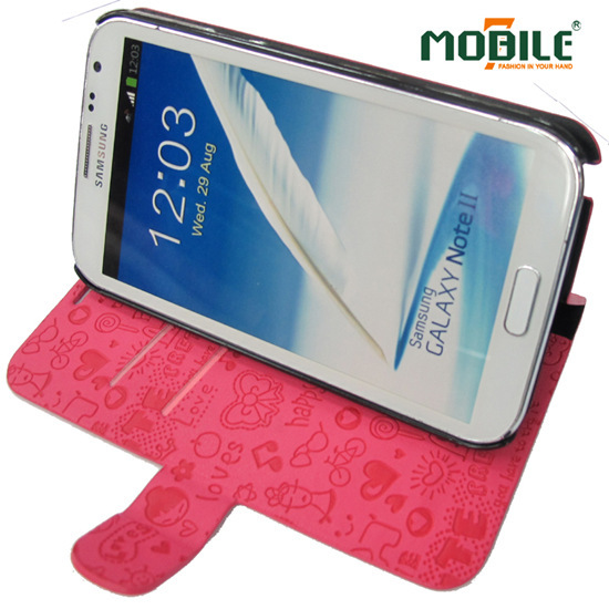 Mobile7 New Design Genuine Leather Case For Samsung Galaxy Note Ii N7100