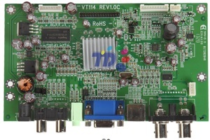 Model No Vt114 Main Features 1 Auto Detection Of Separate Sync Signal
