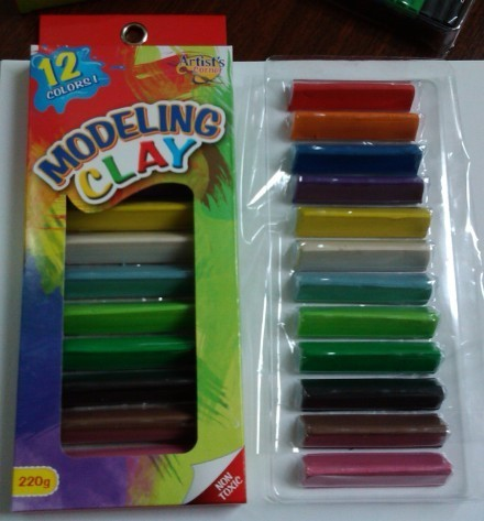 Modeling Clay Play Dough Plasticine