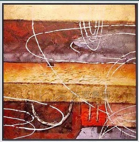 Modern Abstract Hand Painted Painting Decoration