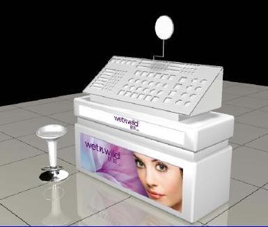 Modern Design Display Stand For Makeup Products