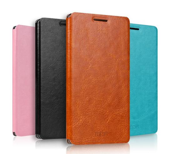 Mofi Lenovo K3 Note A7000 Flip Pu Leather Case Slim Cover Unique Design