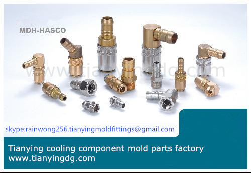 Mold Coupling Brass Cnc Turned Parts From Dongguan Factory