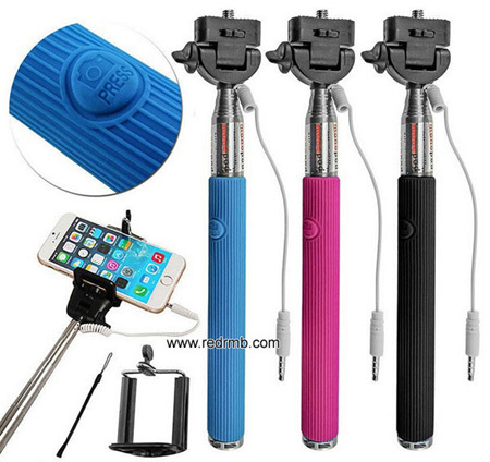 Monopods Manufactory Extendable Handheld Wireless Monopod For Iphone M002