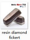 Monte Bianco Resin Bond Diamond Fickert For Ceramic Grinding Tools
