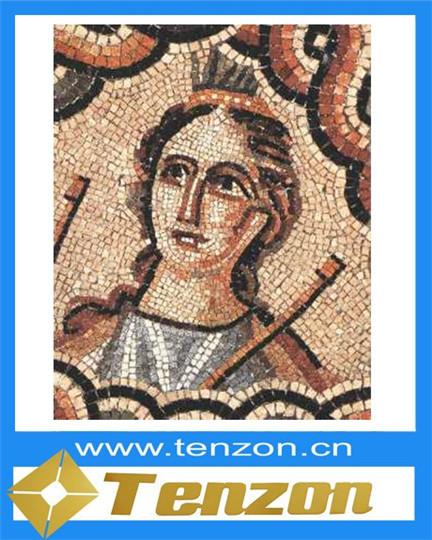 Mosaic Art In Hall Floor