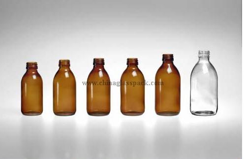 Moulded Glass Bottle Bottles For Syrups Din Pp28mm