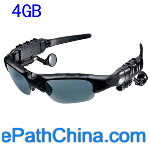 Mp3 Sunglasses With 4gb Flash Memory