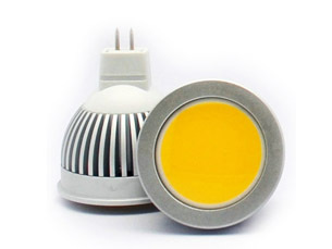 Mr16 12v 3w Cob Smd Led Spotlight