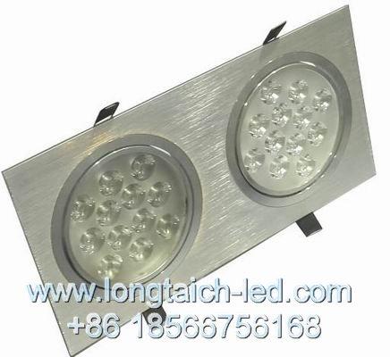 Mrx Cob Bold Grille Spotlights Led Lamp Single Head Double Two Three Bean P