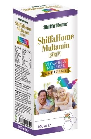 Multamin Syrup Multi Vitamin Mineral Mixture Herbal Natural 100 Ml