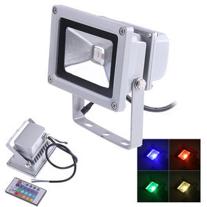 Multi Color 10w Rgb Led Floodlights Ip65