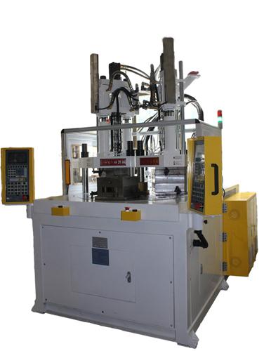 Multi Color Material Vertical Injection Plastic Molding Machine Jtt 550 2v3