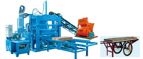 Multi Function Hydraulic Block Making Machine Qty4 20a Brick Manufacturing