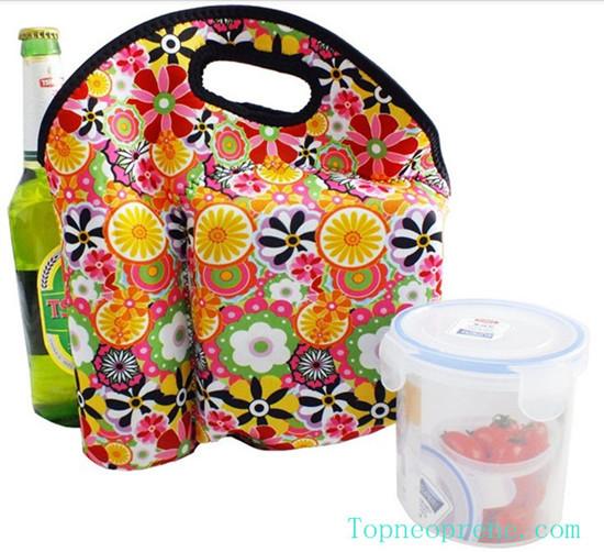 Mutifuctional Neoprene Lunch Picnic Tote Cooler Bag