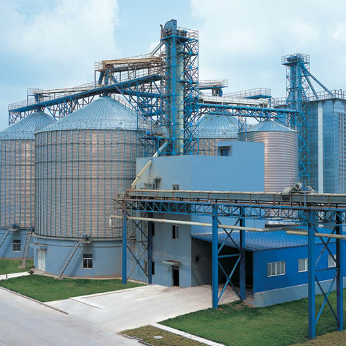 Muyang Group Assembly Malt Silo