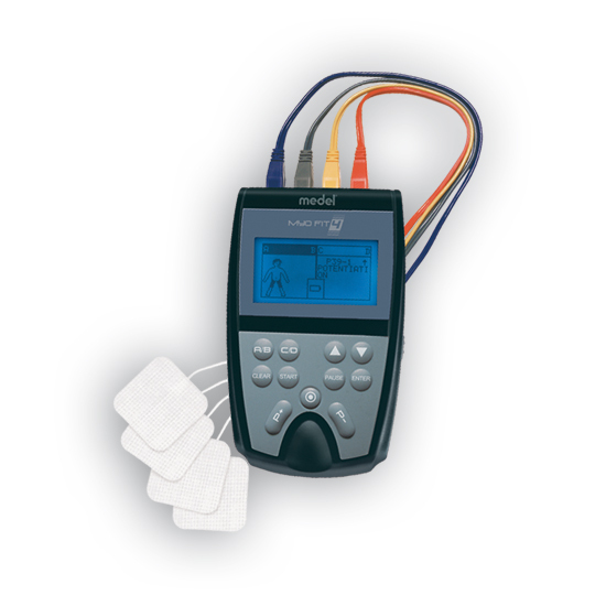 Myo Fit 4 Four Channel Electronic Muscle Stimulator