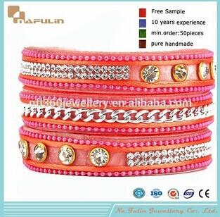 Nafulin Austrian Crystal Bracelets Handmade Designer Jewelry