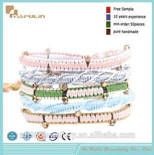 Nafulin Cords Braided Hemp Rope Woven Bracelet