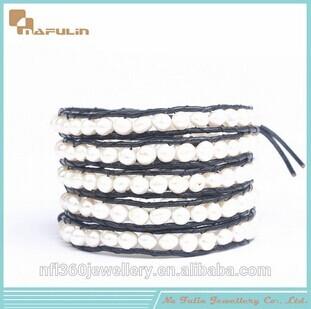 Nafulin Friendship Bracelets With Freshwater Pearl