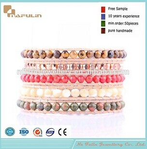 Nafulin Made In China Wholesale Beads Bracelet Glass