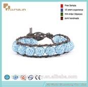 Nafulin New Fashion Clay Fit Beaded Bracelet