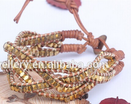 Nafulin Party Occasion Copper Stretch Material Bracelet