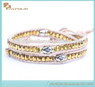 Nafulin Top Fashion Skull Copper Bracelet Wholesale