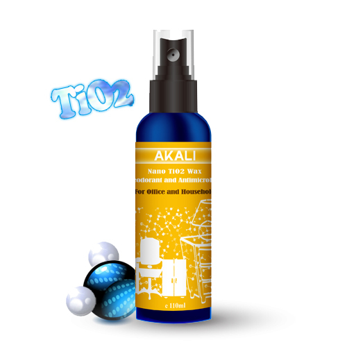 Nano Tio2 Antimicrobial And Deodorant Wax Spray