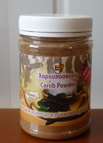 Natural Cypriot Carob Powder