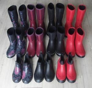 Neoprene Rubber Rain Boots