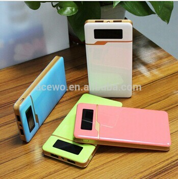 New Arrive Colorful Portable 6000mah Power Bank