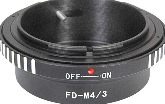 New Camera Lens Adapter For Canon Fd To Micro M4 3 M43 Panasonic G1 Gh1 Gf1