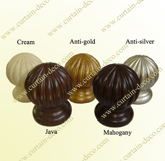 New Fashion Resin Curtain Finial