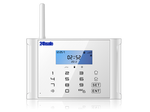 New Gsm Pstn Alarm System With Lcd Display And Touch Keypad
