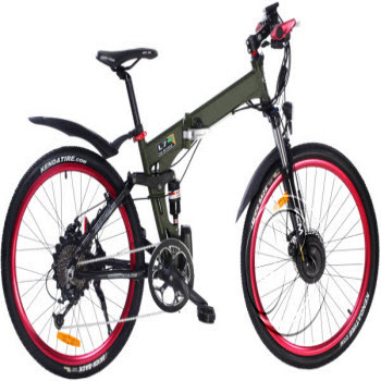 New Model Electric Bicycle Lithium Battery Foldable Bike