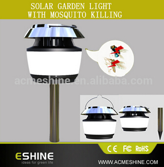 New Patent Product Solar Ultrasonic Mosquito Repeller Lamp China Wholesale