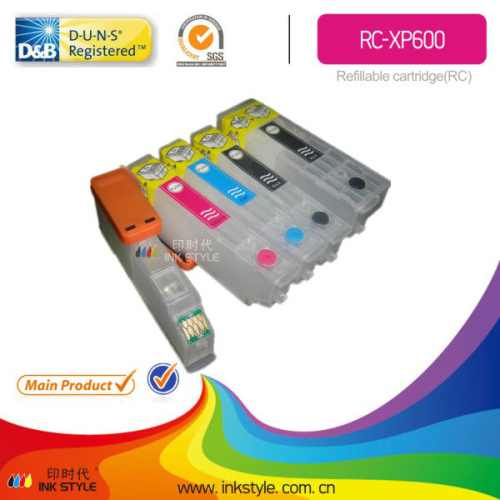 New Rc Xp600 Refill Ink Cartridge For Epson Xp 600 800