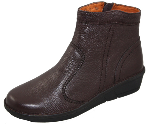 New Style Brown Lady Leather Boots Gh9448 8