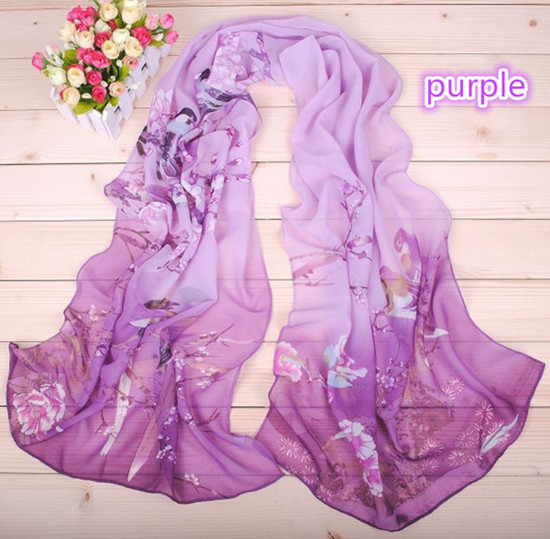 New Style Scarf For Summer And Autumn Fashion Sun Resistance Ladies Chiffon