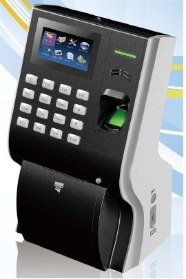 New Technology Fingerprint Time Recorders With Built In Printer Ko P40