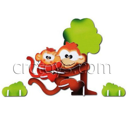 New Toys For Kids 3d Puzzle Animal Kingdom