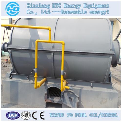 Newest Technology Tyre Pyrolysis System