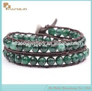 Nflbr04202 2014 Fashion Mala Elastic Band Style Seed Bead Bracelet