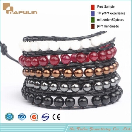 Nflbr364 Wholesale Beaded Bracelet