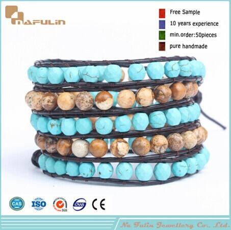 Nflbr369 Handmade Beaded Bracelet