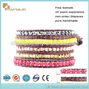 Nflbr661 Wholesale In Yiwu Market Fashion Bead Bracelets Bracelet
